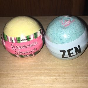 VS Pink Bath bombs